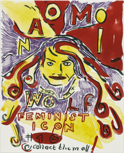 Feminist Icon 10 by Bob and Roberta Smith