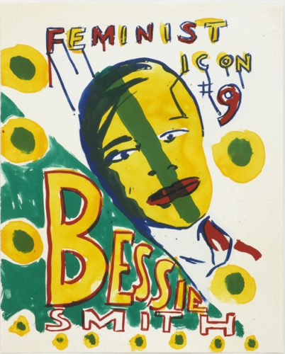 Feminist Icon 9 by Bob and Roberta Smith