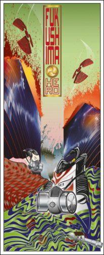 Fukushima Hero – Day (art With Purpose Series) by Booda Brand