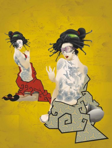 Geisha Girls by Booda Brand