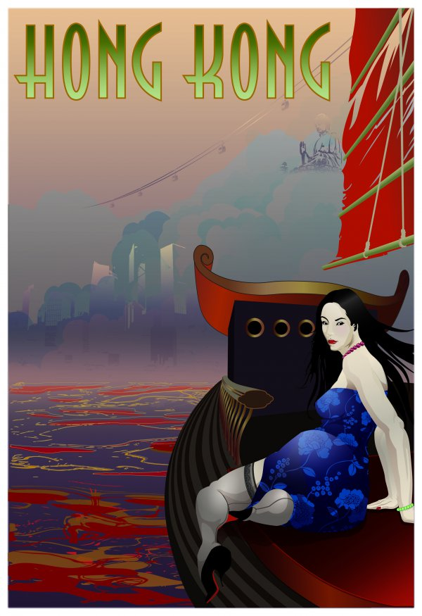 Hong Kong Exotic (wanderlust Series) by Booda Brand