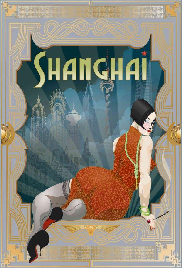 Shanghai Deco (wanderlust Series) by Booda Brand