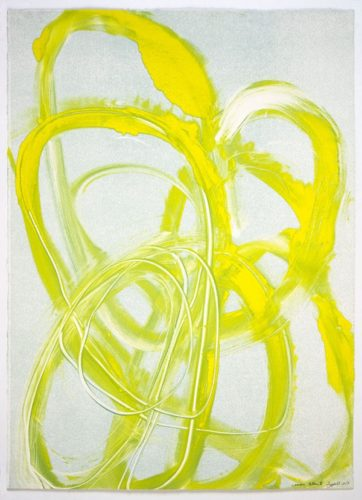 Lemon Yellow Iii by Brenda Zappitell
