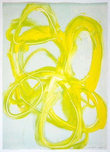 Lemon Yellow I by Brenda Zappitell