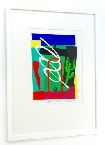 Cactus Head by Bruce McLean at PGR Fine Art