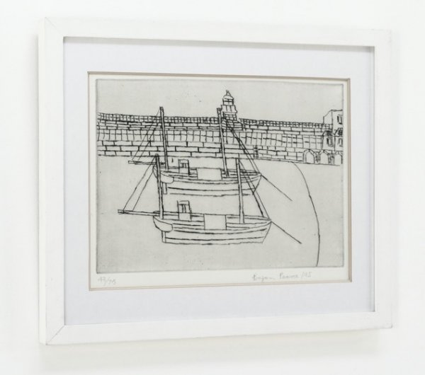 St Ives Harbour by Bryan Pearce