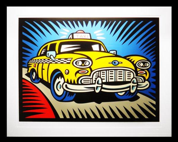 Taxi by Burton Morris