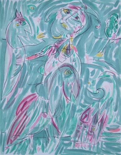 Untitled by Carl-Henning Pedersen