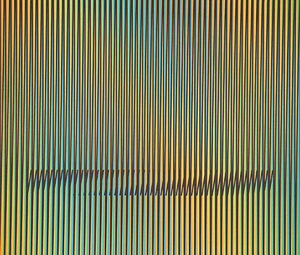 Caura-1 by Carlos Cruz-Diez at Carlos Cruz-Diez