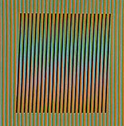 Ceramique # 7 by Carlos Cruz-Diez at
