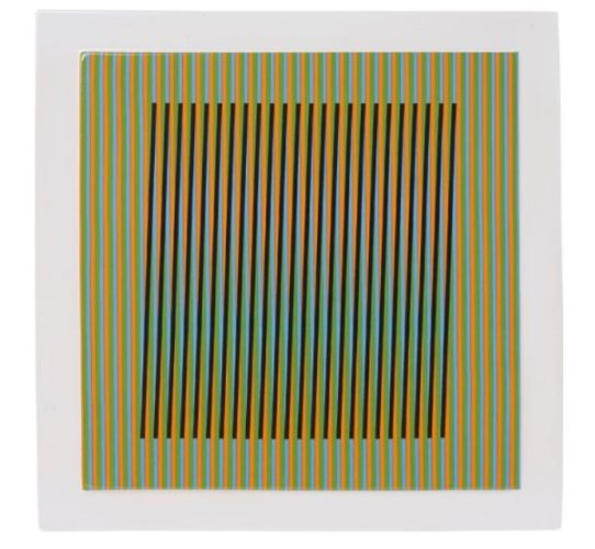 Ceramique # 8 by Carlos Cruz-Diez at