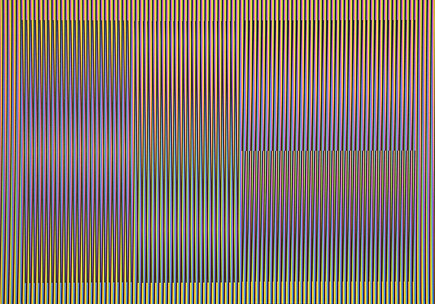 Mod. 2 Color Aditivo Cantarrana 3 by Carlos Cruz-Diez at Carlos Cruz-Diez