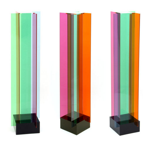 Transchromies A 4 Elements B by Carlos Cruz-Diez at