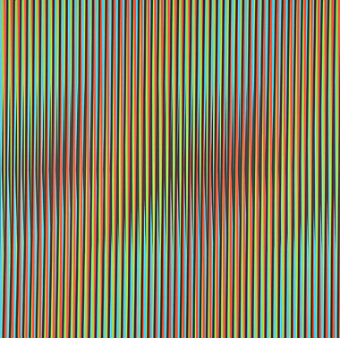Viernes by Carlos Cruz-Diez at Carlos Cruz-Diez
