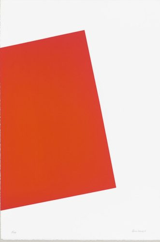 Untitled (2017) by Carmen Herrera at