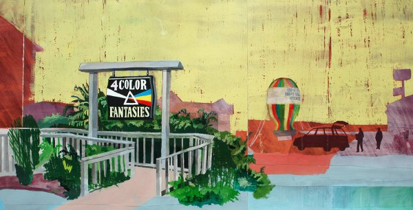 4-color Fantasies by Carolyn Swiszcz at