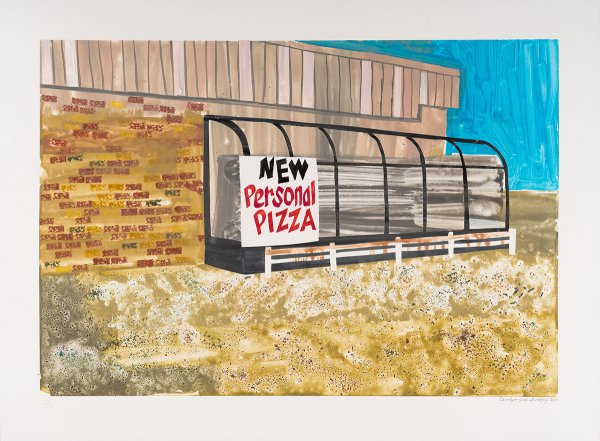 New Personal Pizza by Carolyn Swiszcz at