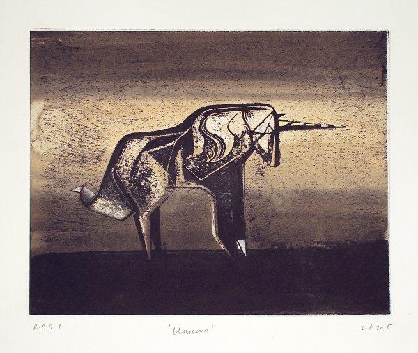 Unicorn by Cathie Pilkington RA