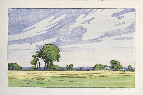 A June Day by Ethel Kirkpatrick