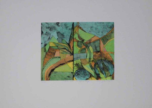 Allerlei Innen. Der Riss Im Gebirge. by Christa Pyroth at Sylvan Cole Gallery