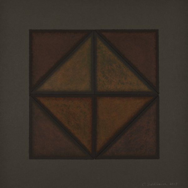 Diamond In A Square by Connie Saddlemire