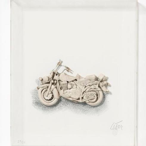 La Moto by César Baldaccini