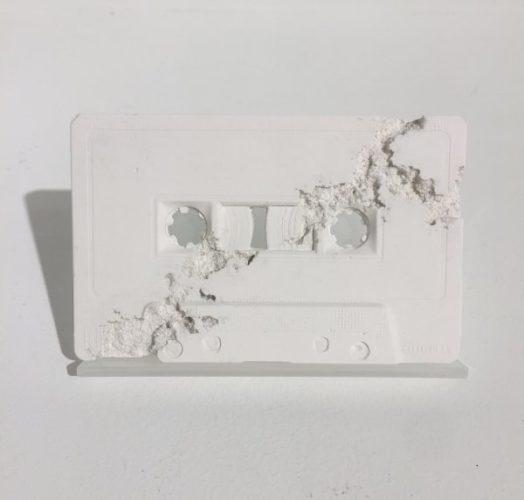 Cassette Tape (future Relic Fr-04) by Daniel Arsham
