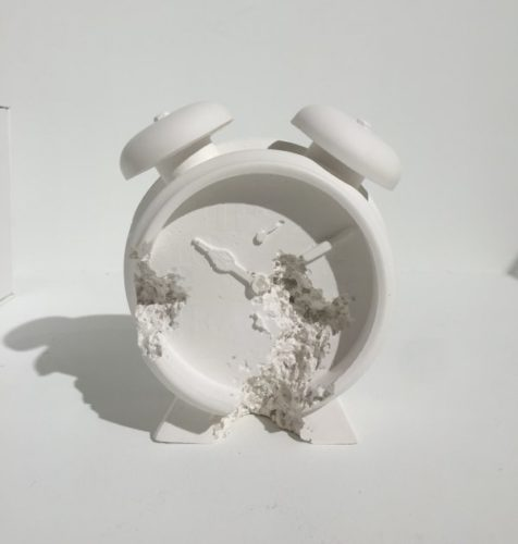 Clock (future Relic Dafr-03) by Daniel Arsham