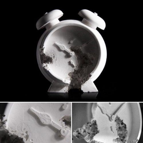 Future Relic 03 (alarm Clock) by Daniel Arsham