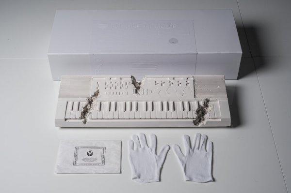Future Relic 09 (keyboard) by Daniel Arsham