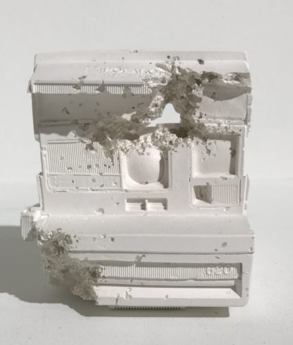 Polaroid (future Relic 06) by Daniel Arsham
