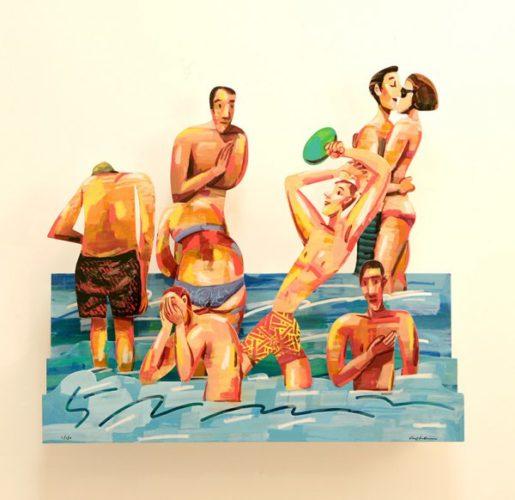 Sun Of The Beach 5 by David Gerstein