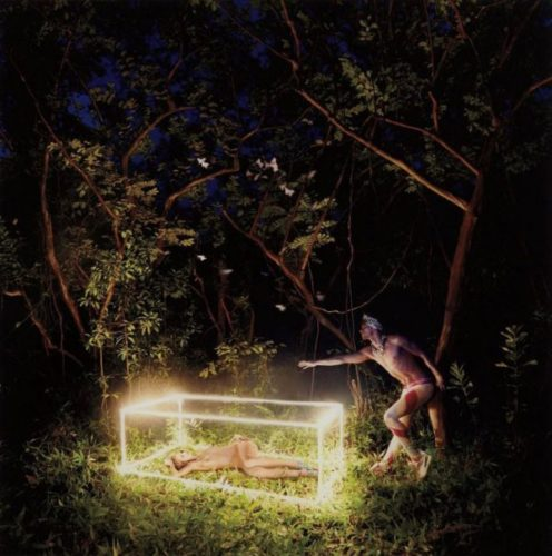 First I Need Your Hand, Then Forever Can Begin by David Lachapelle