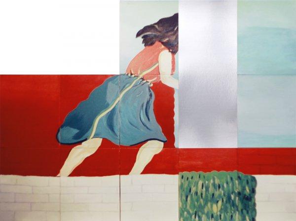 Woman Running In Twelve Sections (1965 – 2018) by David Lamelas