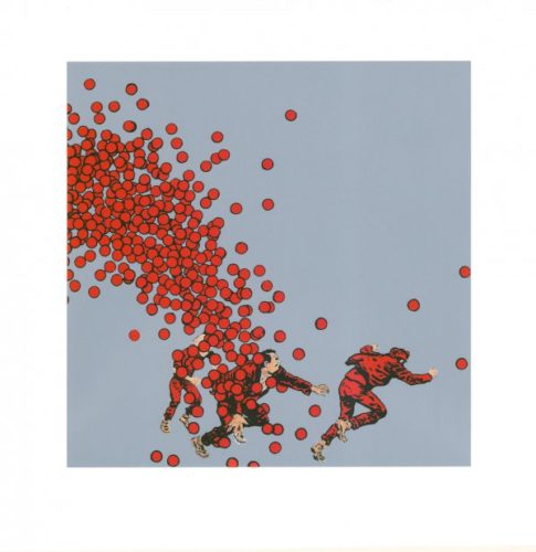 Better Red Than Dead by David Mach at