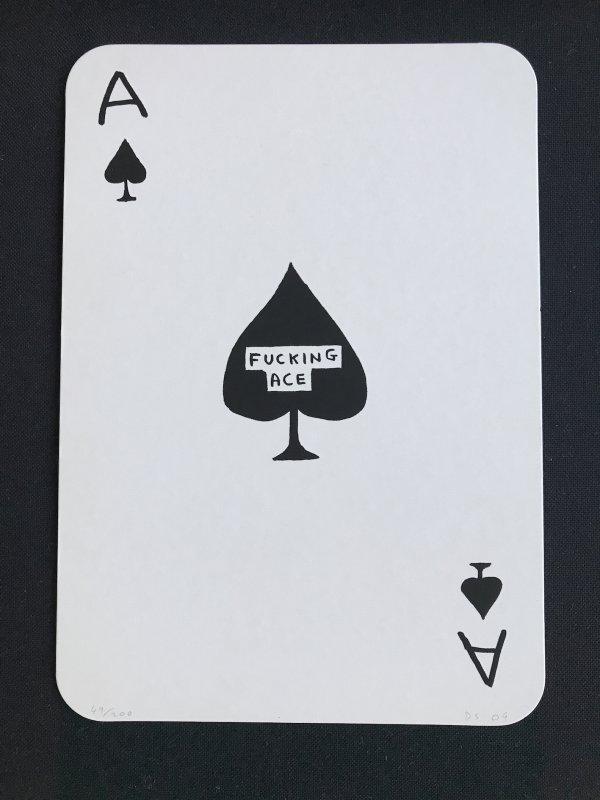 F***ing Ace by David Shrigley