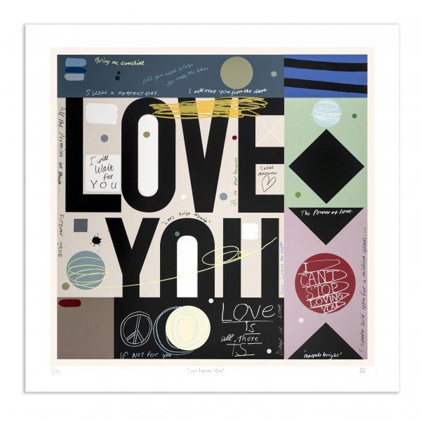 Love:forever True by David Spiller