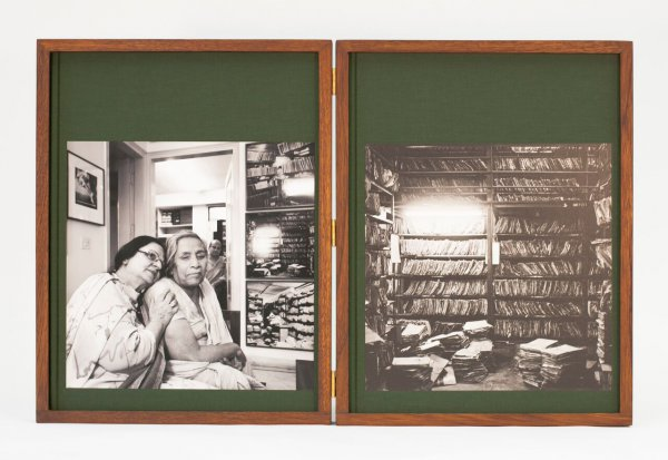 Mona, Mother, Mohun And The Fileroom by Dayanita Singh
