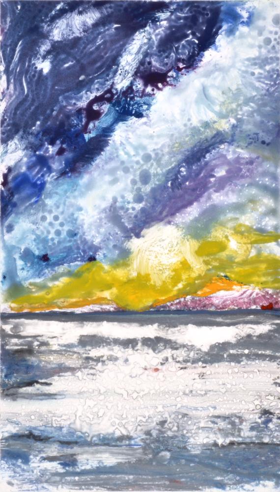 Blue Wave 12 by Deborah Freedman