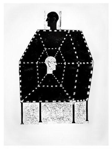 Man And Matrix by Declan Jenkins