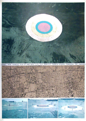 Target by Dennis Oppenheim at
