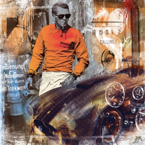 Flying Horse – Steve Mcqueen by Devin Miles