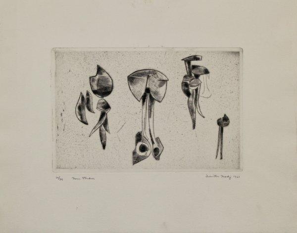Form Studies by Dimitri Hadzi at Dimitri Hadzi