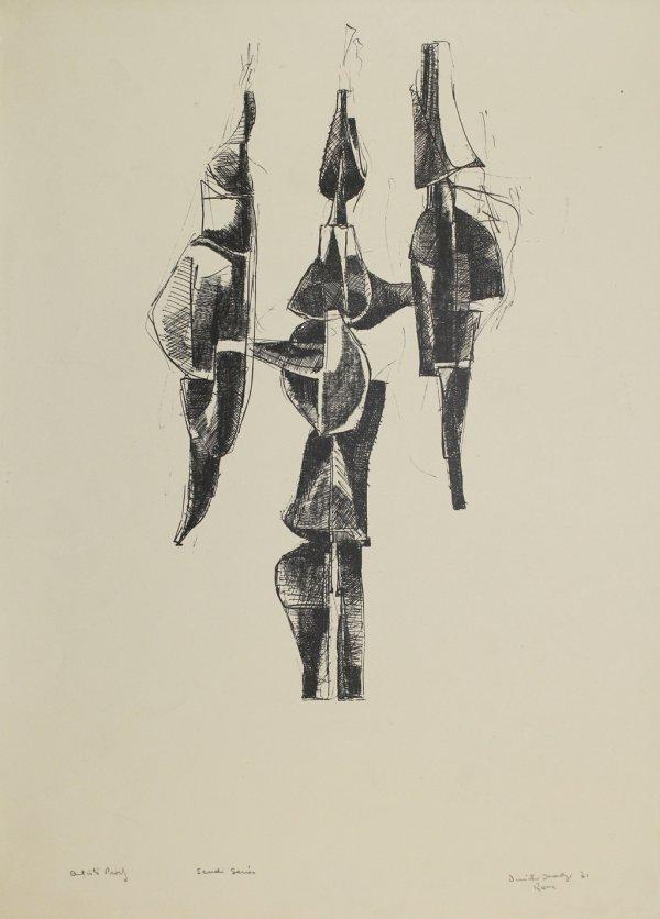 Scudi Series by Dimitri Hadzi
