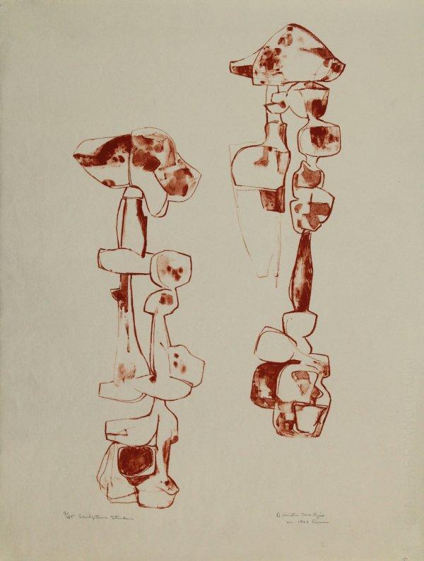 Sculpture Studies by Dimitri Hadzi