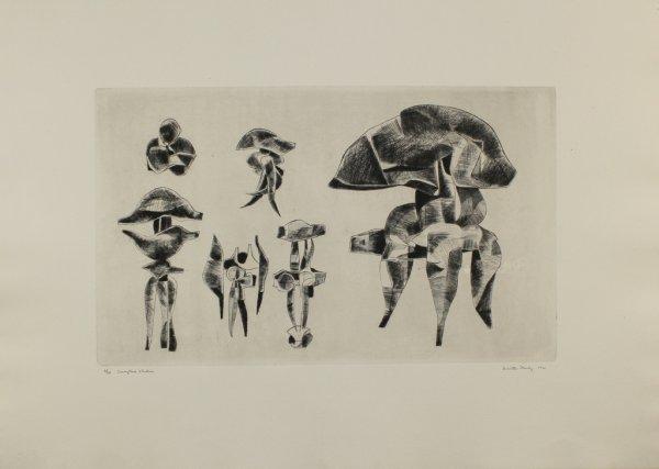 Sculpture Studies by Dimitri Hadzi at Dimitri Hadzi