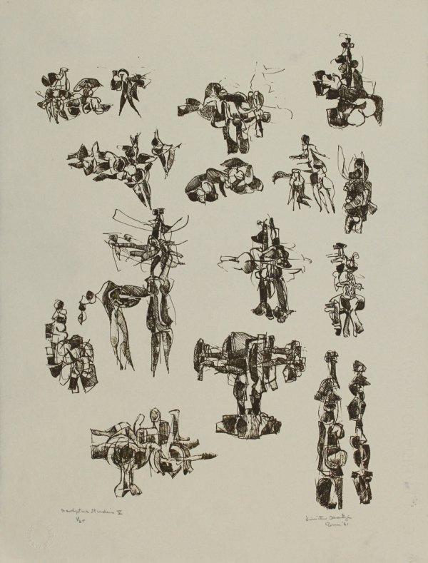 Sculpture Studies V by Dimitri Hadzi