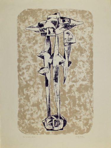 Sculpture Study by Dimitri Hadzi at Dimitri Hadzi