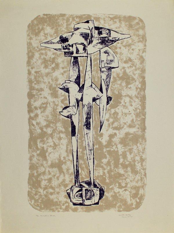 Sculpture Study by Dimitri Hadzi