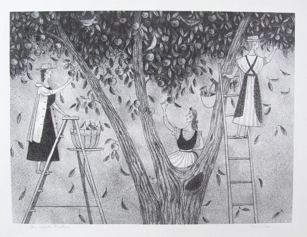 Apple Pickers by Doris Lee